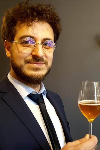 Thibault Schuermans de Bière à table
